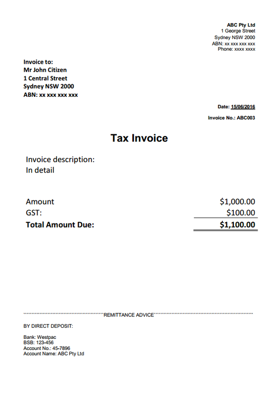 Free Download Microsoft Word Invoice Template Easysmb Accounting